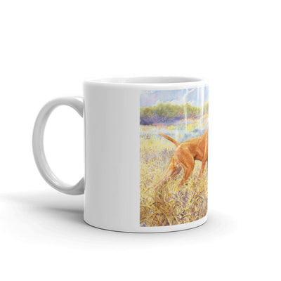 """Ruger"" 11oz Vizsla Coffee Mug"