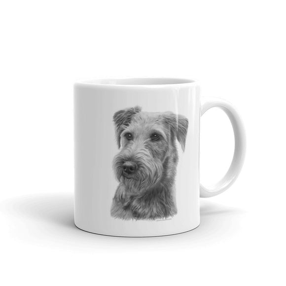 Irish Terrier Pencil, 11oz Coffee Mug