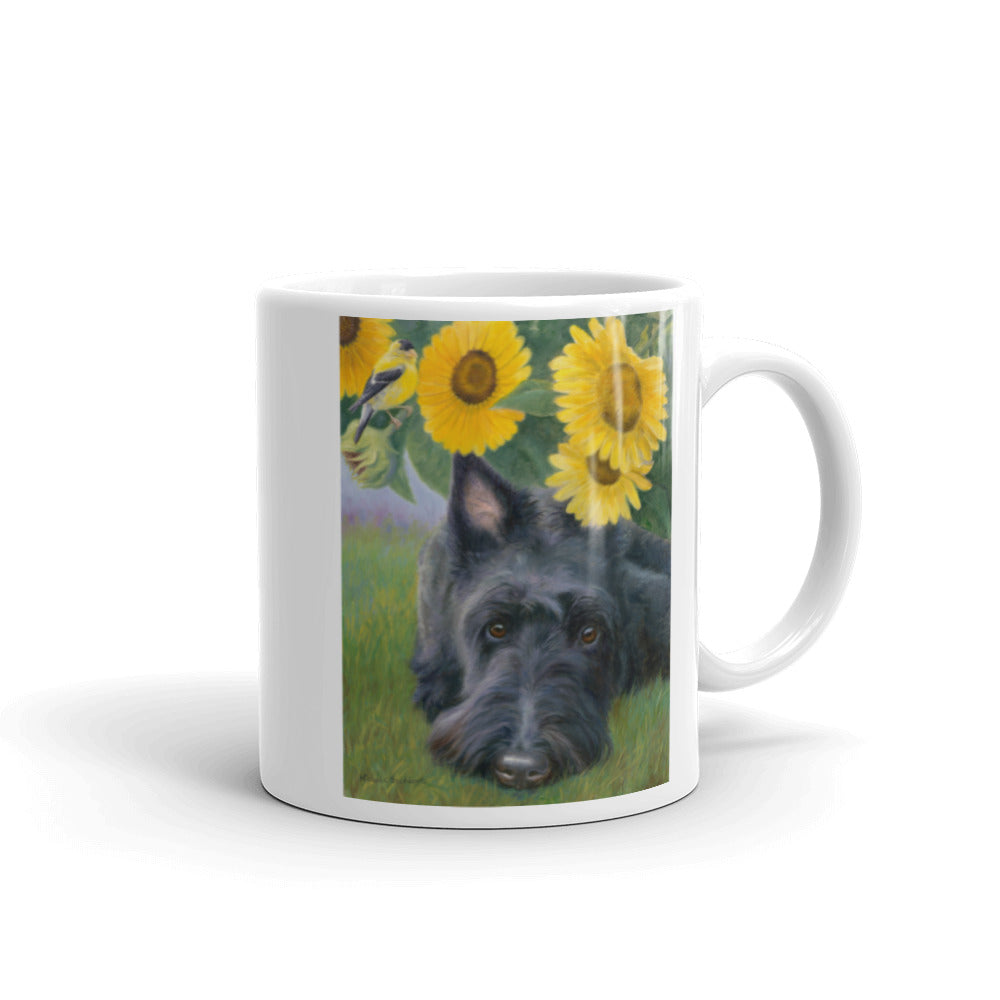 """Bird Droppings"" Scottish Terrier 11oz Coffee Mug"
