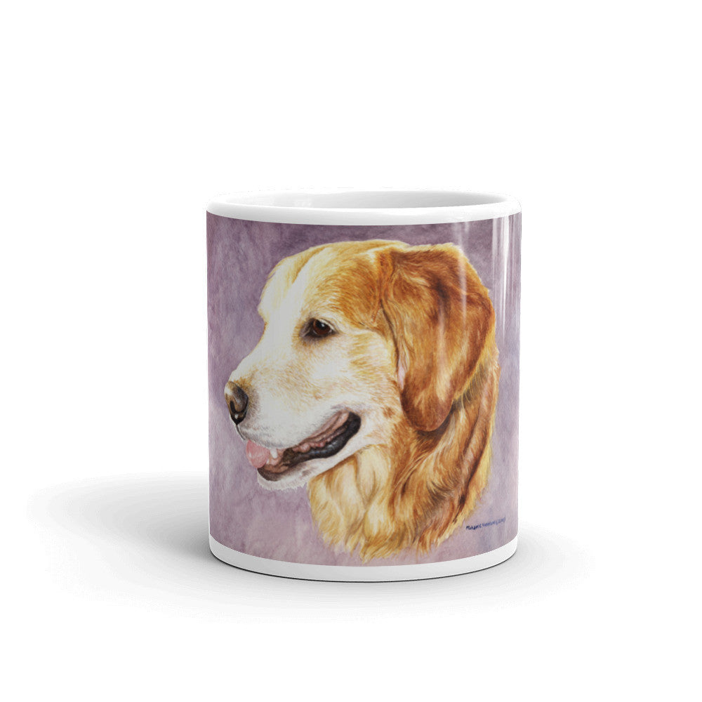Golden Retriever Head Study 11oz Coffee Mug