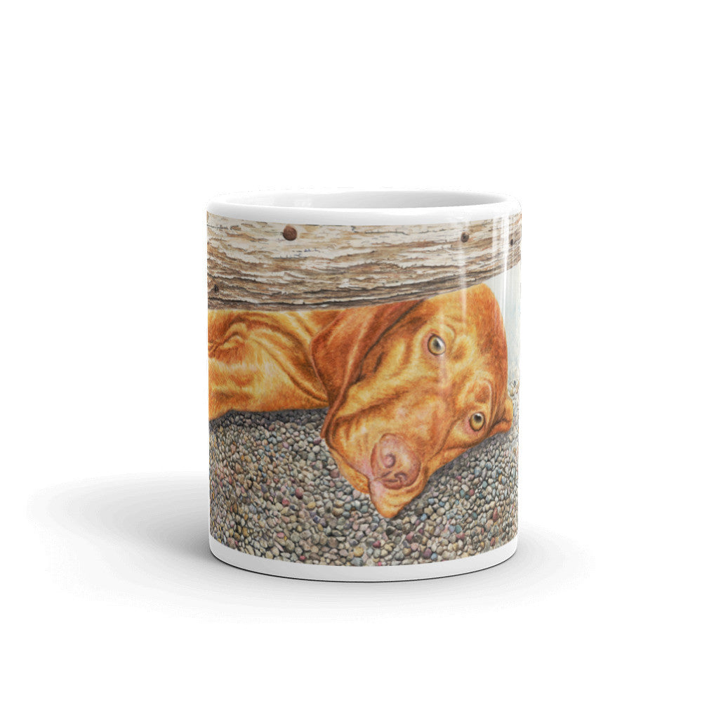 """Missing You"" Vizsla 11oz Coffee Mug"