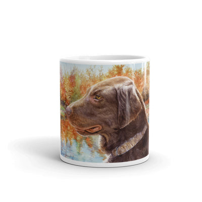 """FCR Colors"" Flat Coated Retriever 11oz Coffee Mug"