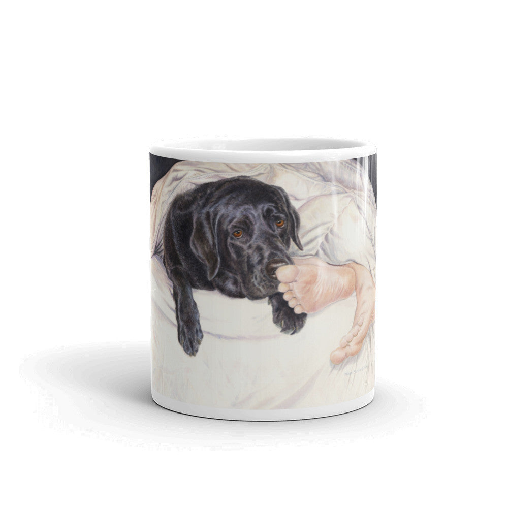 """Lab Feet"" Labrador Retriever 11oz Coffee Mug"