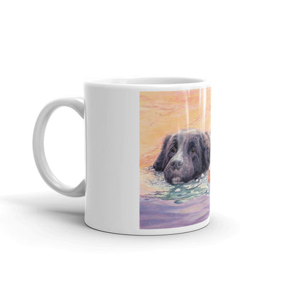 """Rescuers"" Newfoundland 11oz Coffee Mug"