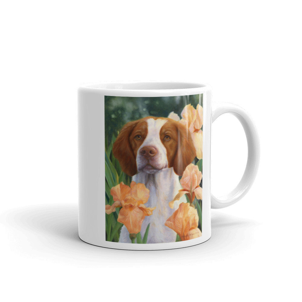 """Compliments"" Brittany 11oz Coffee Mug"