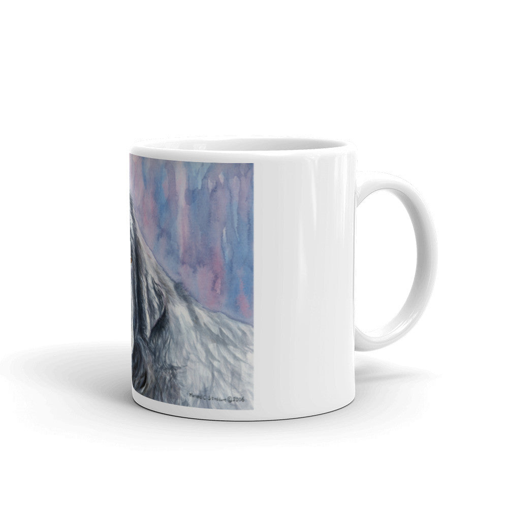 """Newfoundland Head Study II"" 11oz Coffee Mug"