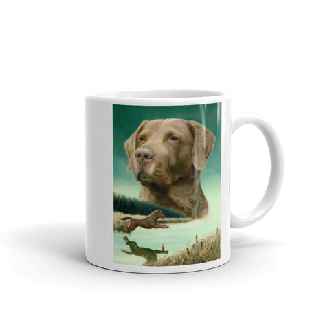 """Entry"" Chesapeake Bay Retriever 11oz Coffee Mug"