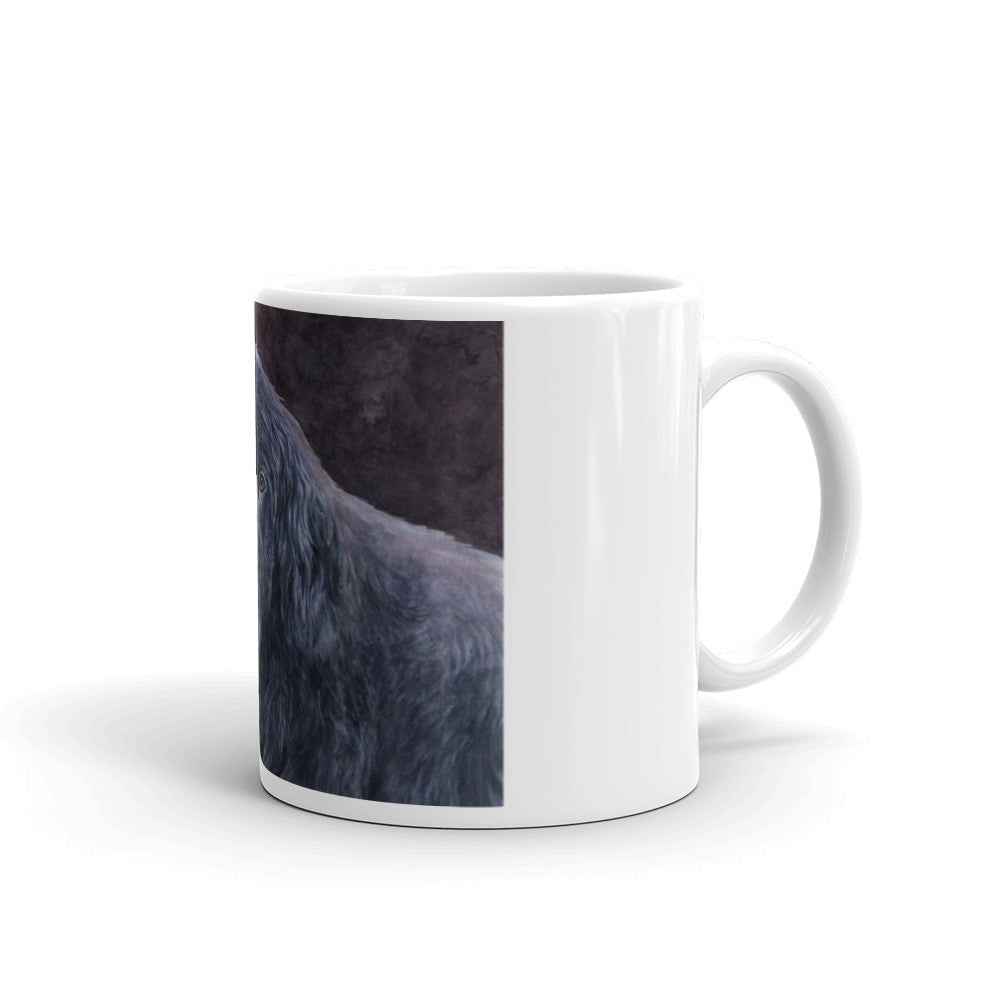 Newfoundland Head Study IV, 11oz Coffee Mug