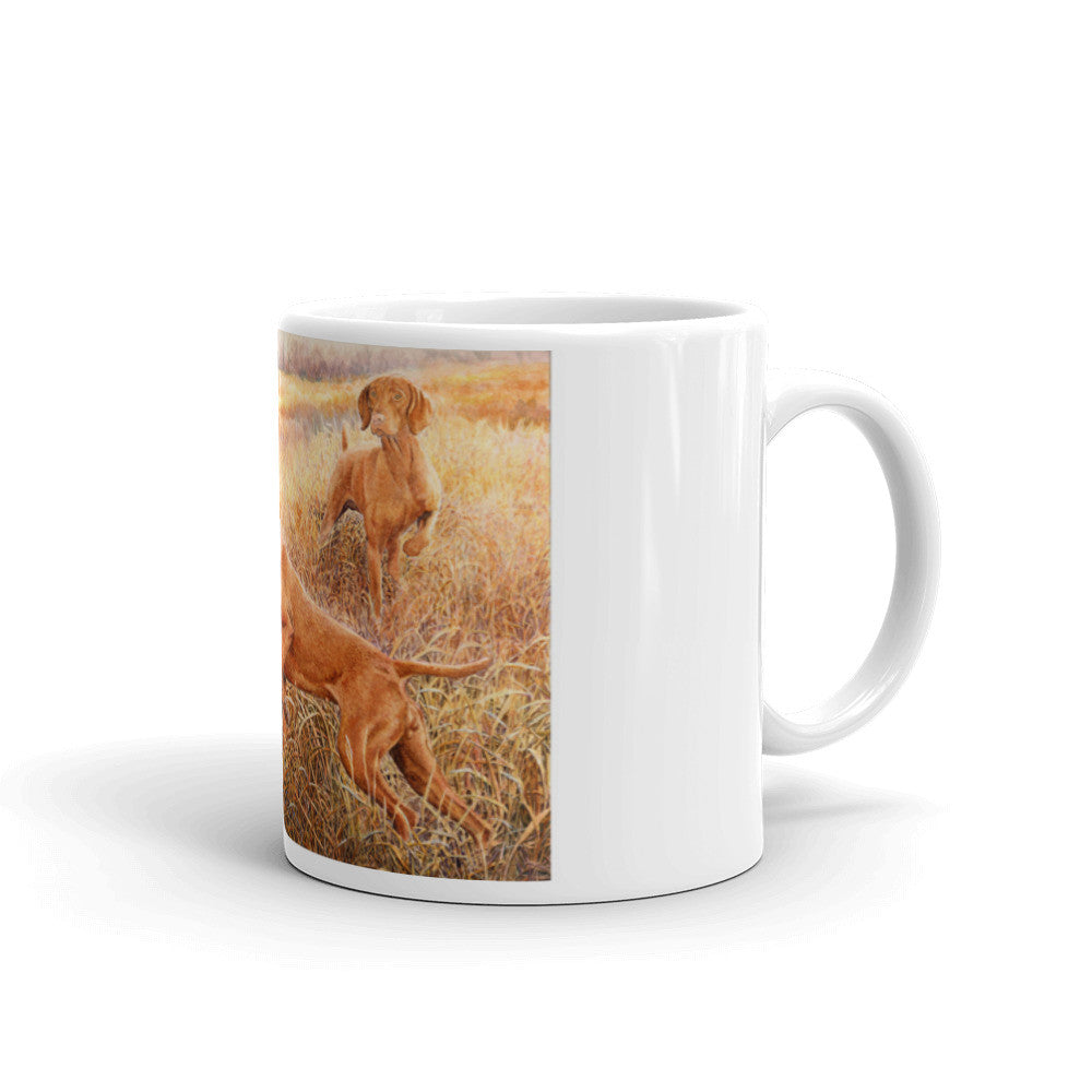 """Investigators"" Vizsla 11oz Coffee Mug"