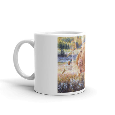 """Double Pheasant"" Vizsla 11oz Coffee Mug"