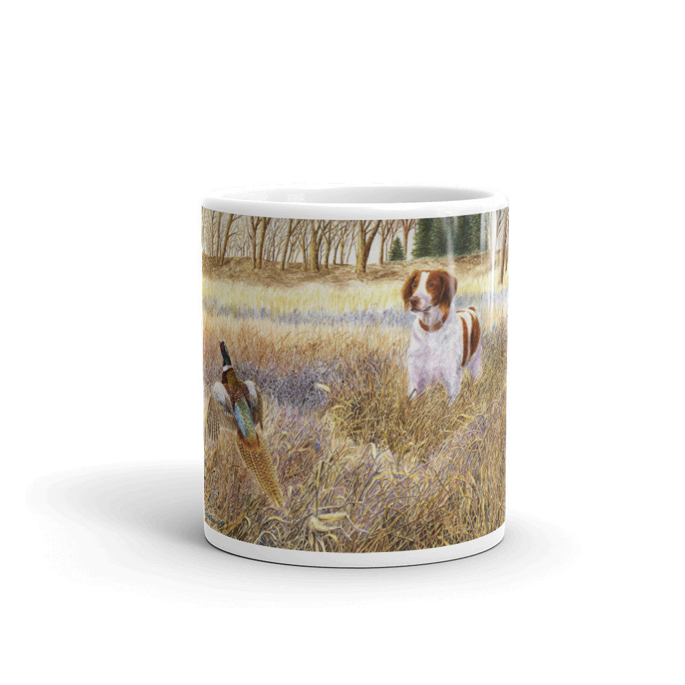 """Brittany on Point"" Brittany 11oz Coffee Mug"