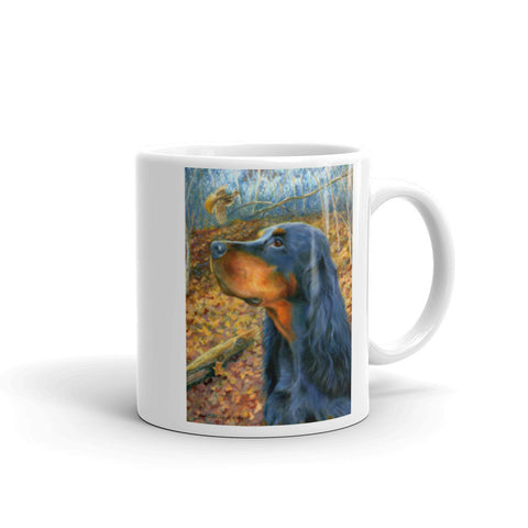 """Northwoods"" Gordon Setter 11oz Coffee Mug"