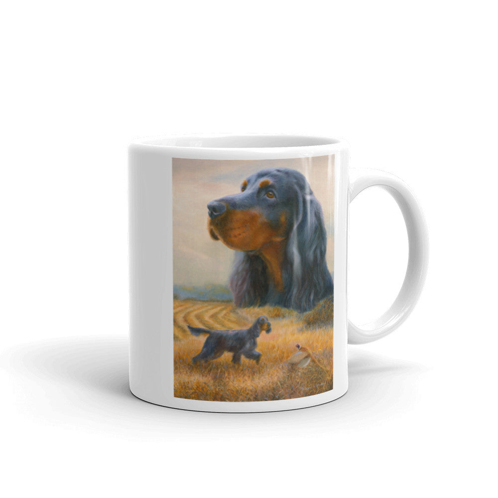 """Autumn"" Gordon Setter 11oz Coffee Mug"
