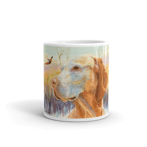 """Wise One"" Vizsla 11oz Coffee Mug"