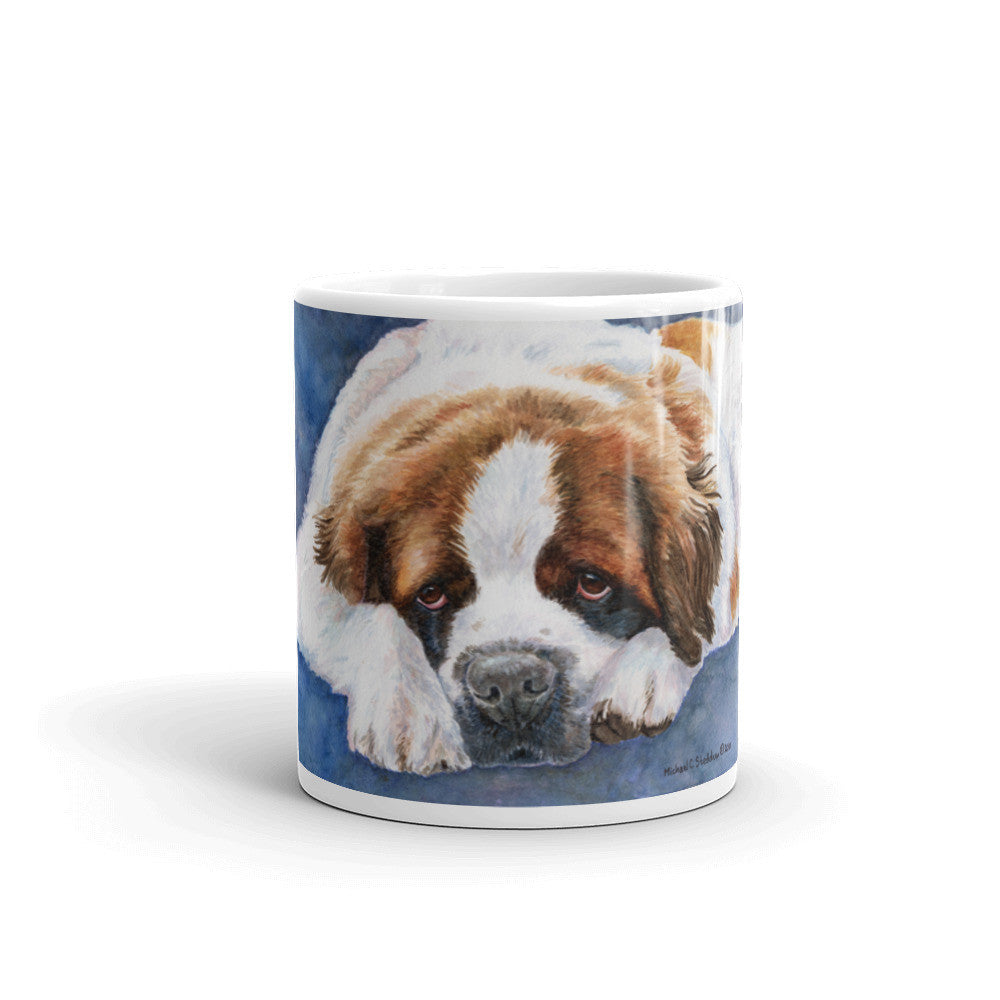 """Watchman"" Saint Bernard 11oz Coffee Mug"