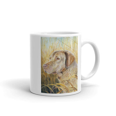 Chesapeake Bay Retriever Head Study V, 11oz Coffee Mug