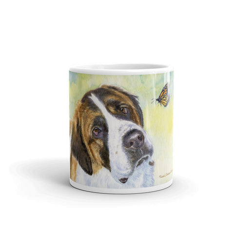"""Discovery"" Saint Bernard 11oz Coffee Mug"