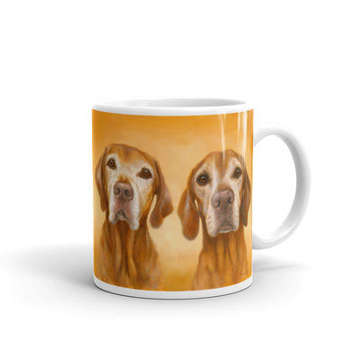 Vizsla I heart You 11oz Coffee Mug