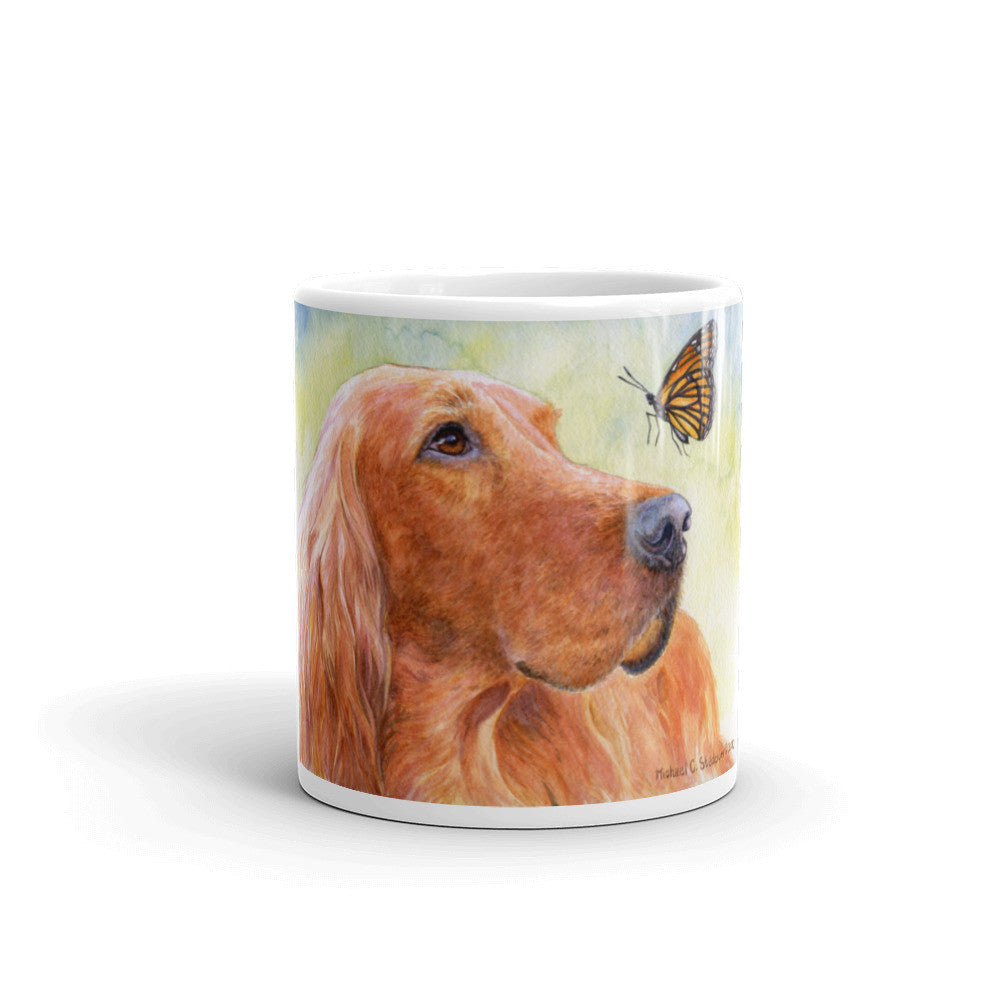 """Discovery"" Irish Setter 11oz Coffee Mug"