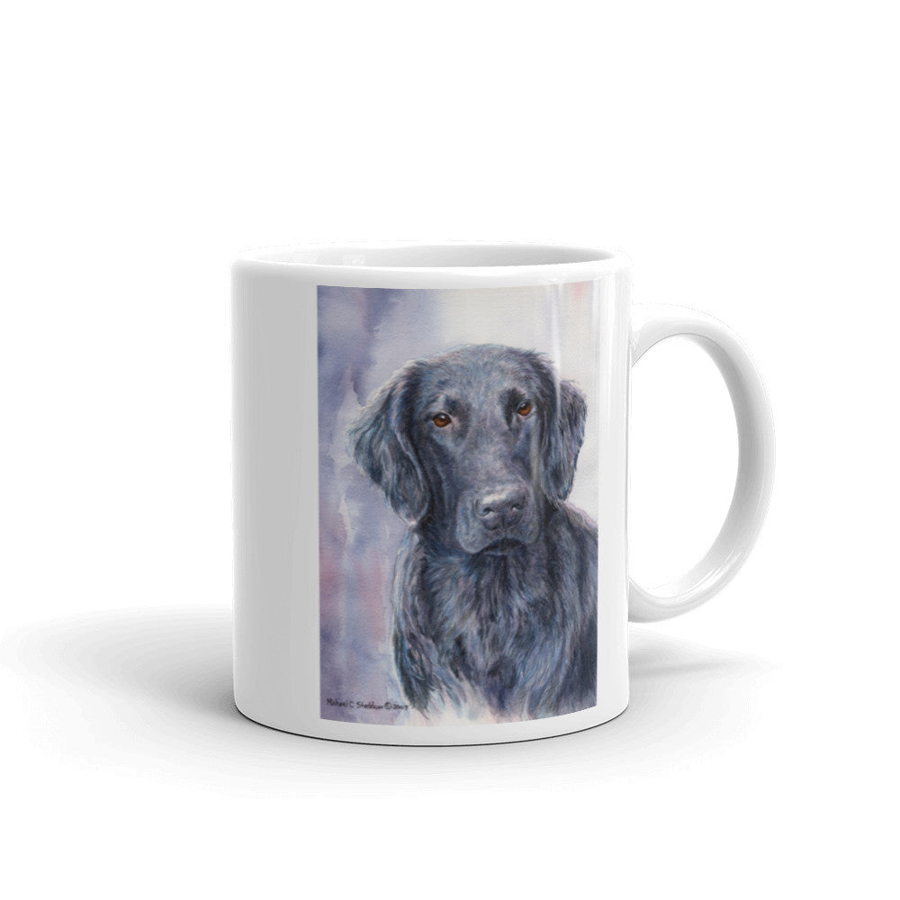 """FCR HSII"" Flat Coated Retriever 11oz Coffee Mug"
