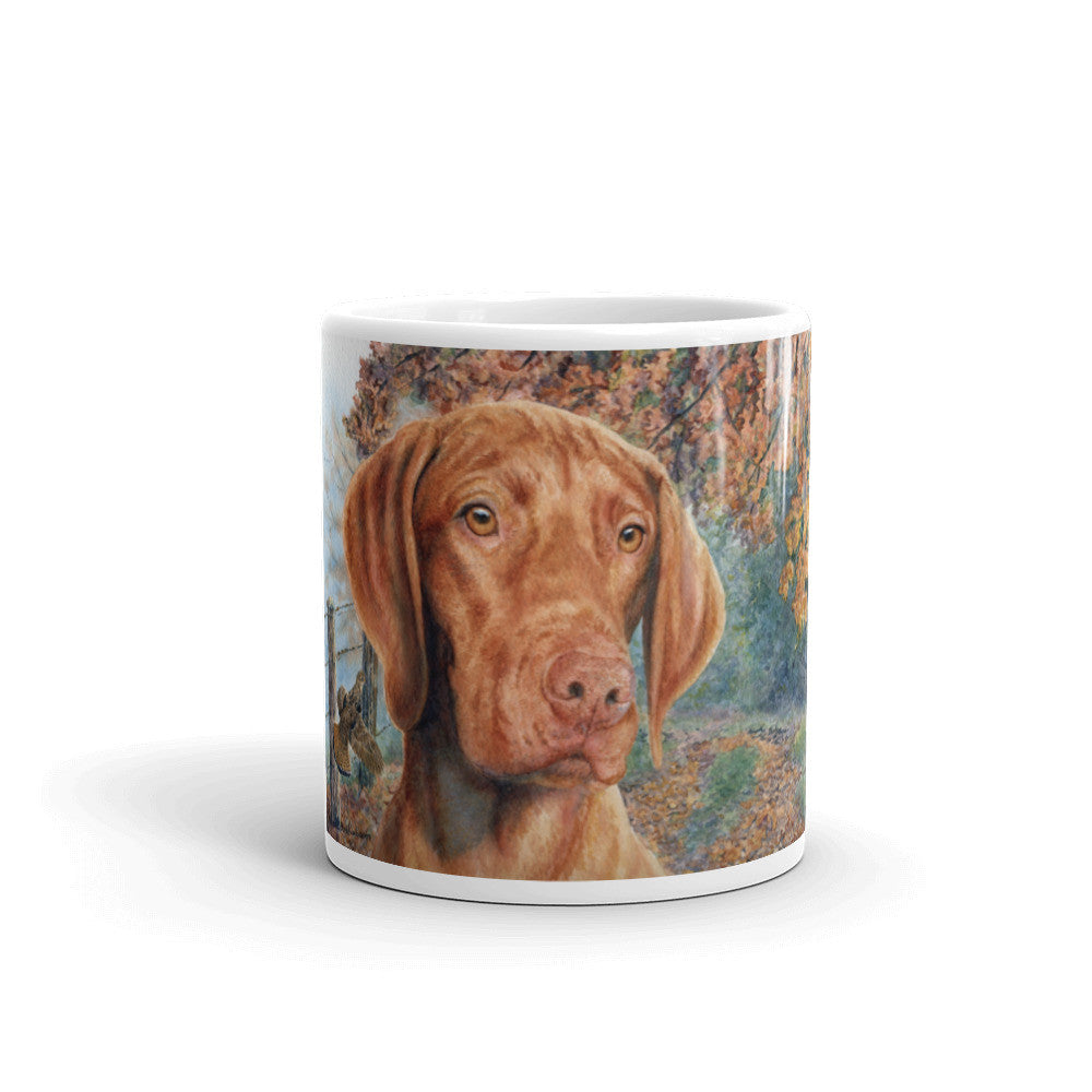 """Grouse"" Vizsla 11oz Coffee Mug"