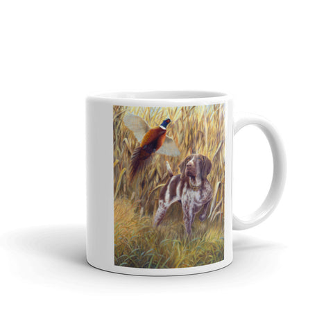 """Steady to Wing"" German Shorthaired Pointer 11oz Mug"