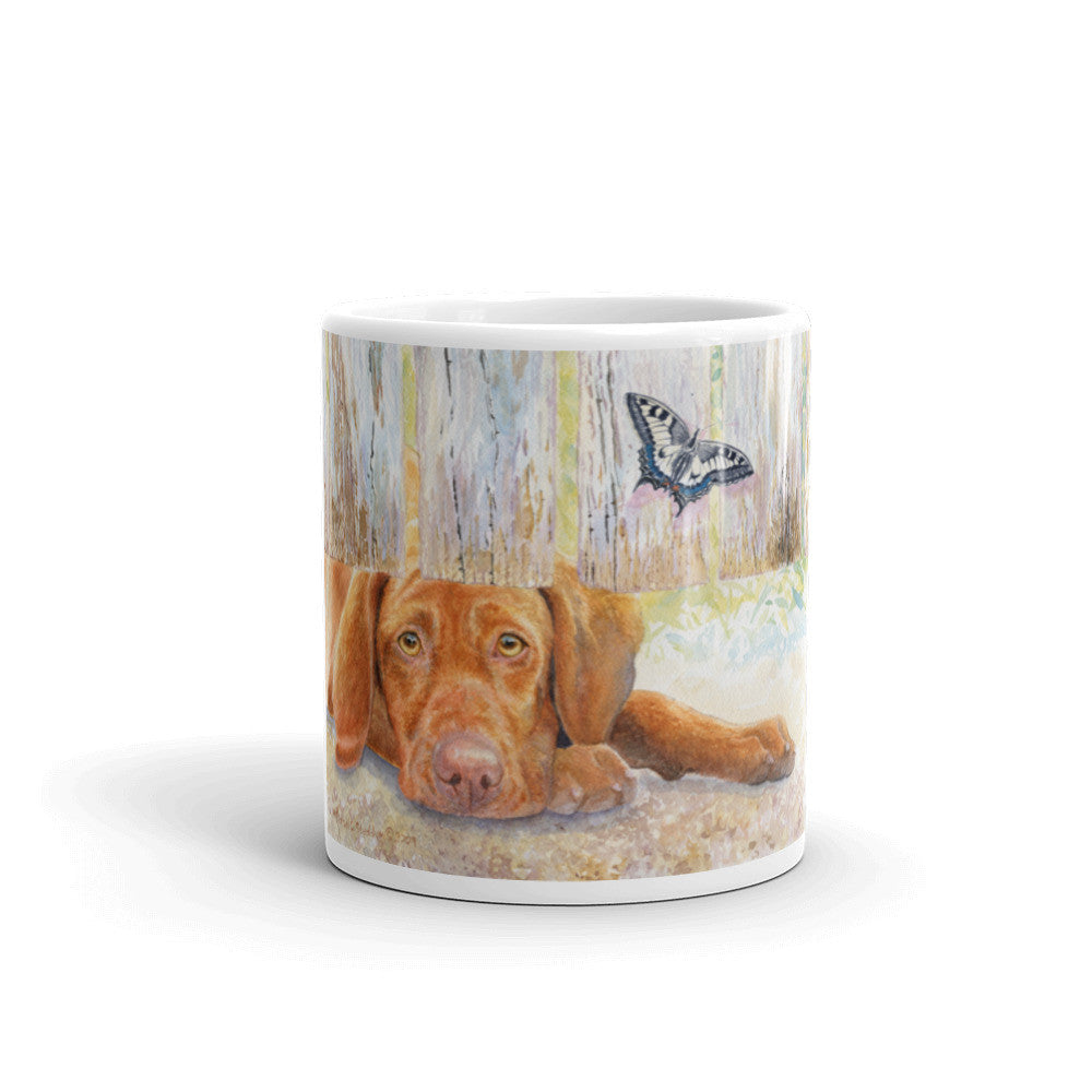 """Vizsla Neighborhood"" Vizsla 11oz Coffee Mug"