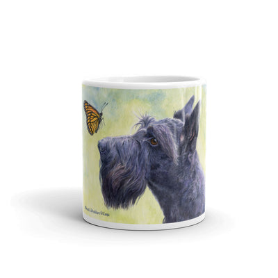"""Close Encounters"" Scottish Terrier 11oz Coffee Mug"
