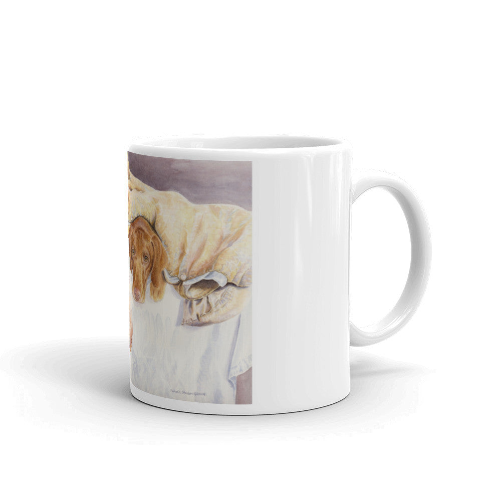 """Vizsla Feet"" 11oz Coffee Mug"