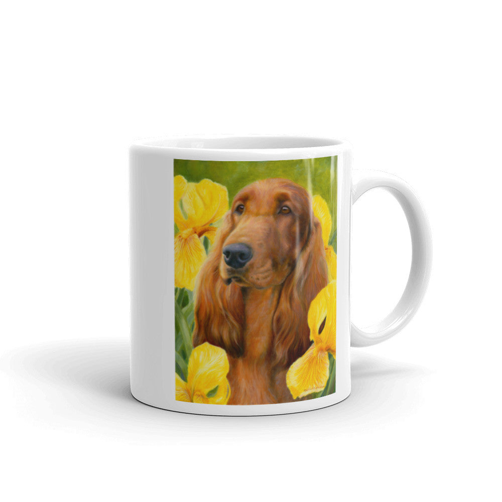 """Contemplation"" Irish Setter 11oz Coffee Mug"