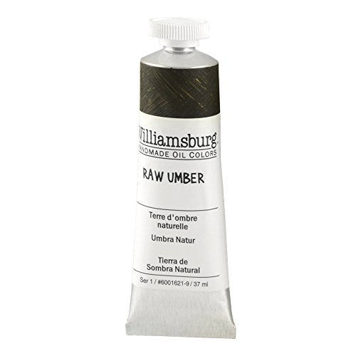 Williamsburg Oil 37ml Tube, Raw Umber (60016219)