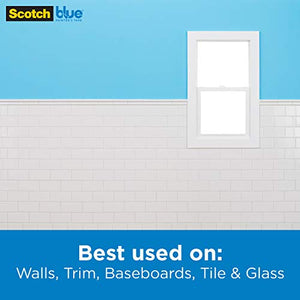 Scotch Painter's Tape Multi-Surface ScotchBlue TRIM + BASEBOARDS Painter's Tape, Blue