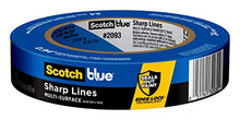 Load image into Gallery viewer, Scotch Painter's Tape Multi-Surface ScotchBlue TRIM + BASEBOARDS Painter's Tape, Blue