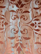 Pompeian Ornament Damask Stencil