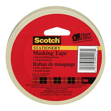 Load image into Gallery viewer, Scotch Tan Masking Tape, 0.70 inch x 54.6 yards, 3436, 1 roll