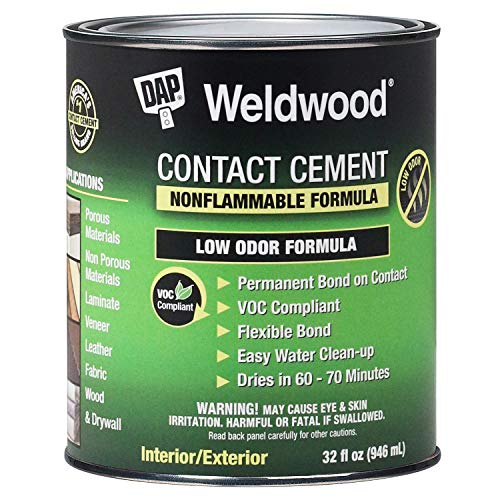 Dap Nonflammable Contact Cement, 1-Quart