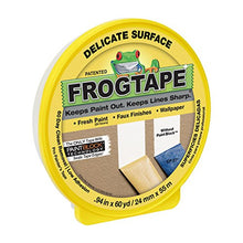 Load image into Gallery viewer, FROGTAPE Delicate Surface Painter's Tape with PaintBlock-.94 inch width, Yellow
