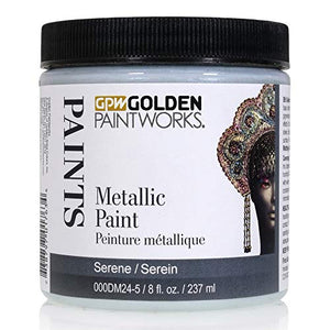 Golden Paintworks Metallic Paint, 8 oz. Jar, Serene