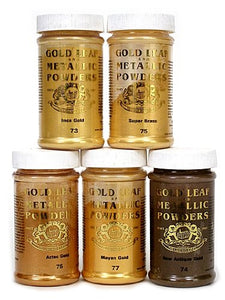 Mica Powders Majestic Gold Mica 1 oz.