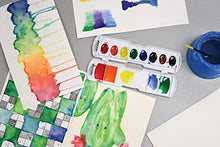 "Load image into Gallery viewer, Watercolor Paper, White, Package, 140 lb., 9"" x 12"", 50 Sheets"