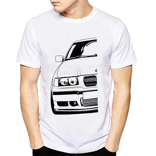 Men's Short Sleeve Tee BMW E30 E36 E46 E92 F80 M3