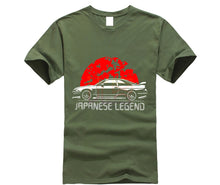 "Load image into Gallery viewer, Men's and Women's Short Sleeve Tee ""R33 Skyline GTR"""