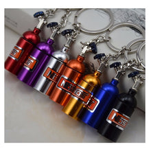 Load image into Gallery viewer, NOS bottle keychain