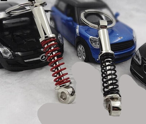 Shocks and springs keychain
