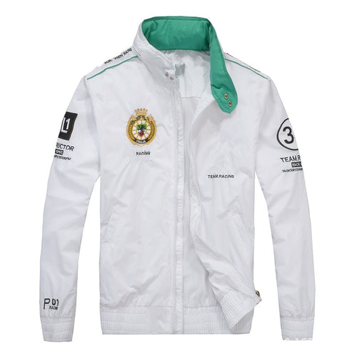 Men's windbreaker racing car manufacturer