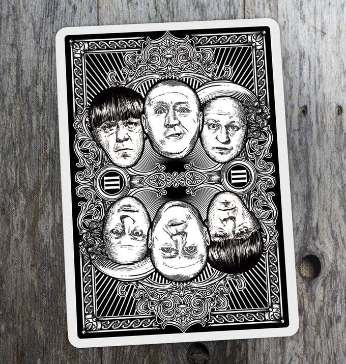 The Three Stooges® Officially Licensed Playing Cards