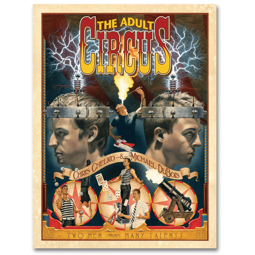 The Adult Circus Poster (Limited Edition)