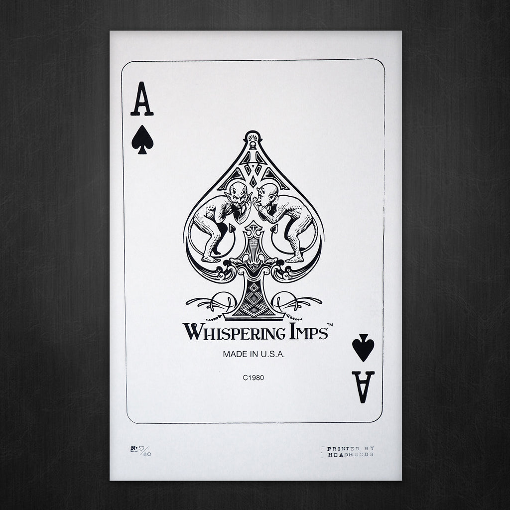Whispering Imps® | Ace of Spades Poster