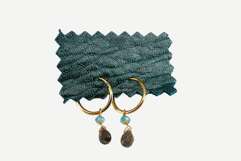 Labradorite and Apatite Hoops