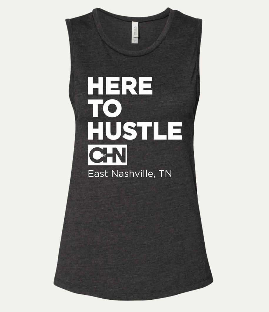 Here To Hustle - Women's sleeveless